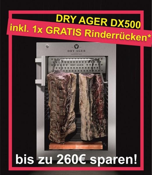 Dry Ager Reifeschrank DX500 + gratis Rinderrücken