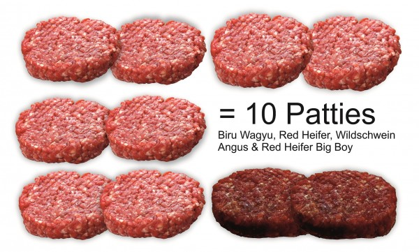 "Paket ""ALL-IN Burger Patties"""
