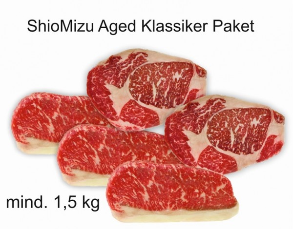 "Paket ""ShioMizu Aged Red Heifer Klassiker"""
