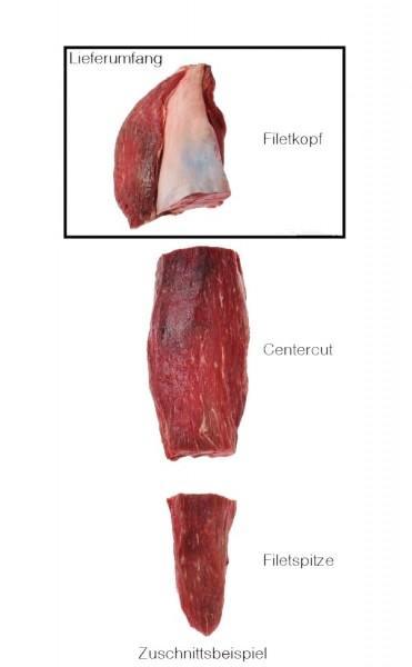Red Heifer Filet Steakkopf, 3 Wochen Dry Aged