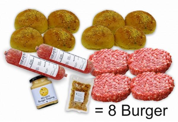 """Paket """"Premium Biru Wagyu Burger"""" (8 Burger)"""