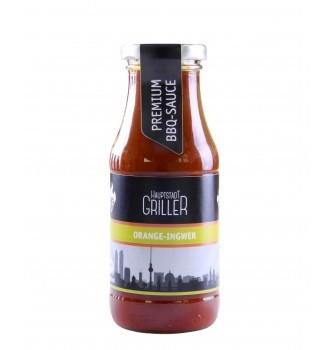 BBQ Orange-Ingwer Sauce, bio, Hauptstadt Griller, 240ml