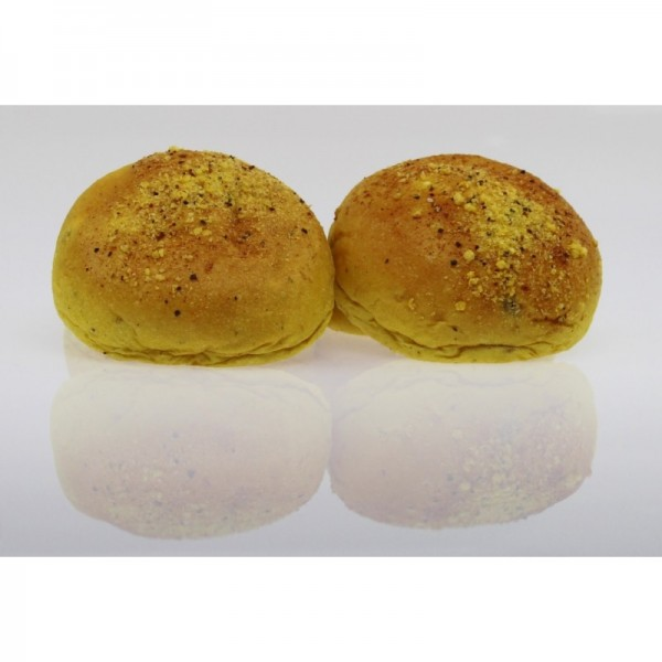 Curry Burger Buns, 4er Pack