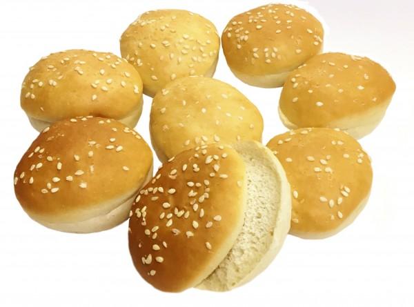 Mini Burger Buns Sesam, 8er Pack, ca. ø 5cm