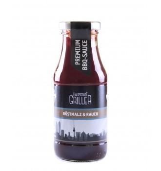 BBQ Rauchmalz Sauce, bio, Hauptstadt Griller, 240ml