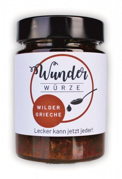 Wunderwürze, Wilder Grieche, 165g Glas