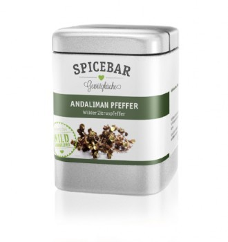Spicebar Andaliman Pfeffer, ganz, -Rarität- 25g