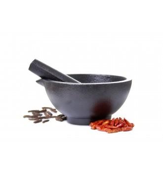 Spicebar Mörser aus Gußeisen