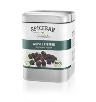 Spicebar Whiskypfeffer, Single Malt Pfeffer, Benromach, bio - 70g