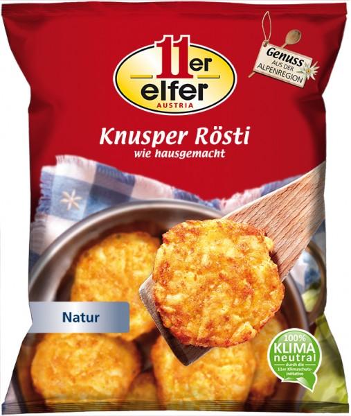11er GmbH, Knusper Rösti, 50g/Stück, 600g Beutel