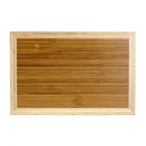 CHROMA Butcher Board, Bambus, Maße: 30 x 45 x 5 cm