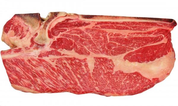 Biru Wagyu Chuck Steak Bone-In, 8 Wochen ShioMizu Aged