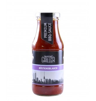 BBQ Röstknoblauch Sauce, bio, Hauptstadt Griller, 240ml
