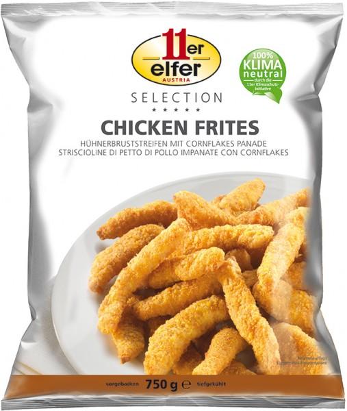 11er GmbH, Chicken Frites, paniert, 750g Beutel