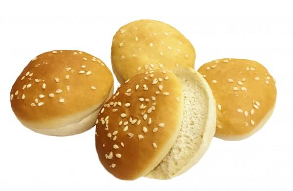 Mini Burger Buns Sesam, 4er Pack, ca. ø 5cm