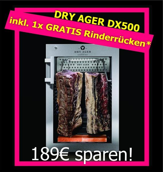 Dry Ager Reifeschrank DX500 inkl. gratis Rinderrücken